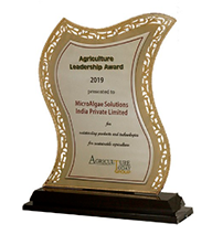 Award for Technology Leadership by Agriculture Today